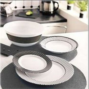 Slika za J7857 TEMPERED TIAGO 19PC TABLEWARE SET
