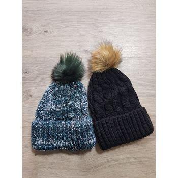 Slika za zenska pletena kapa